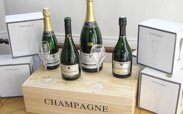 Degustace šampaňského pro dva   Praha   Celoročně dle vypsaných termínů.   2-3 hodiny.2