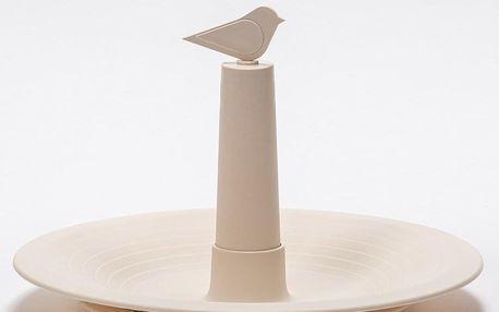 Plastia Pítko pro ptáky Finch, slonová kost