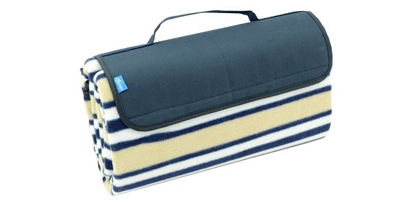 Cattara Pikniková deka Fleece modrá, 150 x 135 cm4