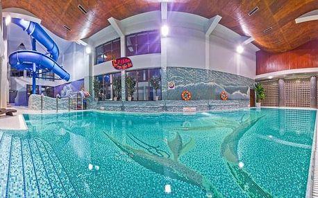 Polsko v lázeňském městě: Hotel Klimek SPA **** s vlastním aquaparkem, welcome drinkem, polopenzí a programem