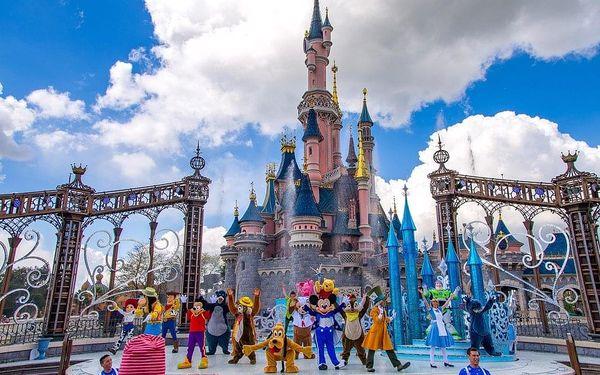 Dva dny v Disneylandu s návštěvou Paříže