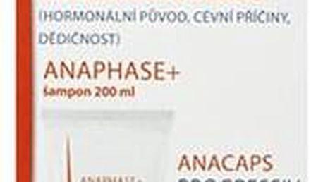 DUCRAY Anaphase šampon + Anacaps PROGRESSIV SET proti chronickému vypadávání vlasů