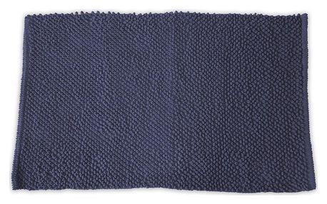 TODAY TODAY Koupelnová předložka mikrovlákno 50x80 cm Ciel d o'rage - tm. modrá