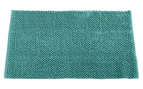 TODAY TODAY Koupelnová předložka mikrovlákno 50x80 cm Diabolo menthe - tyrkysová