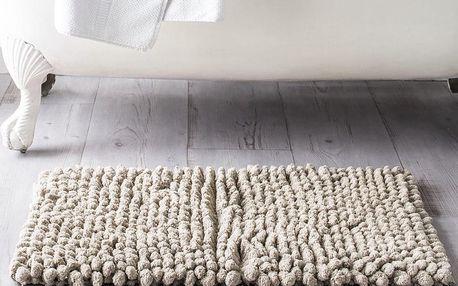 TODAY TODAY Koupelnová předložka mikrovlákno 50x80 cm Mastic - šedobéžová