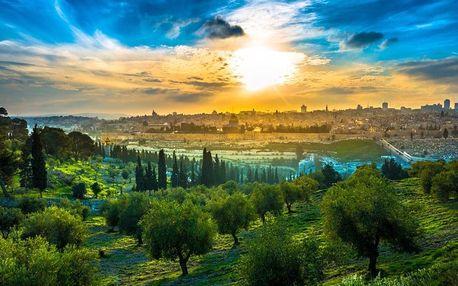 Kouzelná Izrael s koupáním v Rudém moři