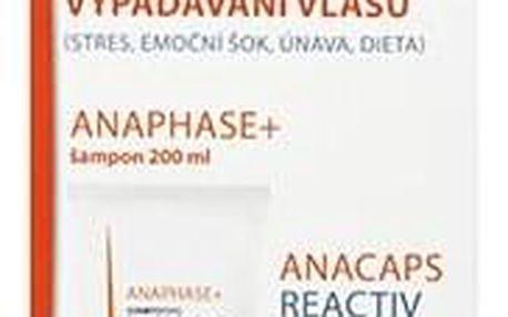 DUCRAY Anaphase šampon + Anacaps REACTIV SET proti reakčnímu vypadávání vlasů
