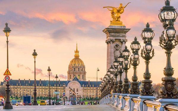 Autosalon v Paříži s prohlídkou města a ubytováním