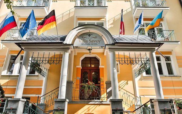 Mariánské Lázně, hotel Villa Savoy Spa & Wellness**** na okraji lesoparku