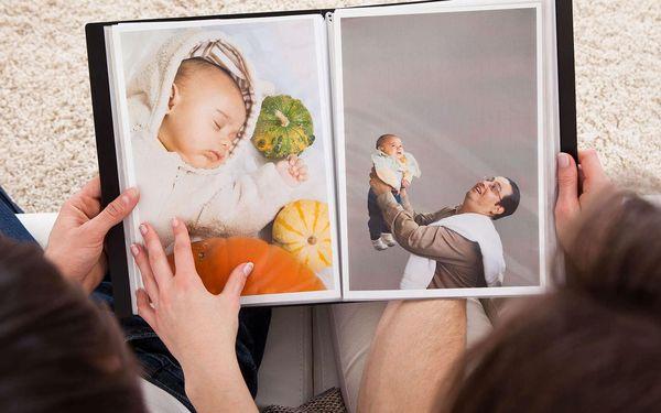 3. Fotokniha s kroužkovou vazbou 21x30 s 80 stránkami - osobní odběr3