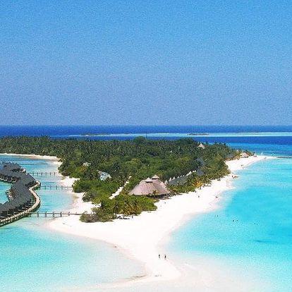 Maledivy letecky na 10 dnů, plná penze
