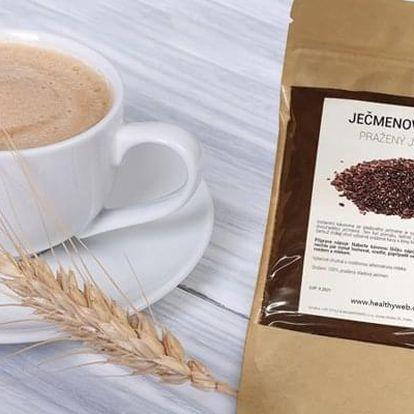 Jedinečná zdravá mletá káva z pomalu praženého ječmene