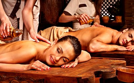 Romantika: thajská aroma masáž pro dva 60–90 minut