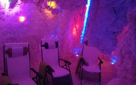 Pobytový balíček se solnou jeskyní v ceně v Harrachově