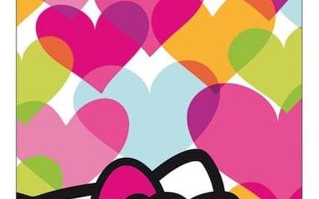 Osuška Hello Kitty Mimi Love 75x150cm