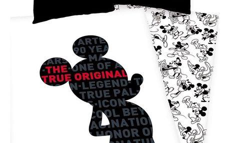 Herding Dětské bavlněné povlečení Mickey 90 years, 140 x 200 cm, 70 x 90 cm