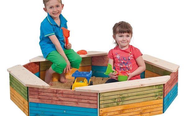 Woody Pískoviště dřevěné - barevné2