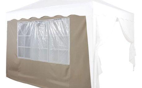 INSTENT 36859 Náhradní boční stěna ke stanu s oknem - béžová