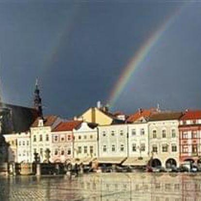 České Budějovice na 3-8 dnů, snídaně v ceně