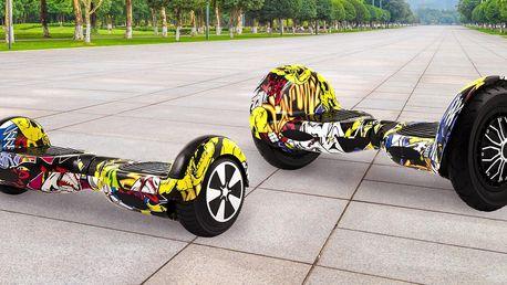 Graffiti hoverboard Berger: 6,5″ i 10″ kola