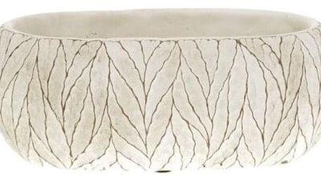Betonový obal na květináč Blade, 24 cm