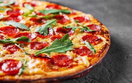 2x pizza o průměru 32 cm nebo 2x těstoviny s odběrem jídla s sebou