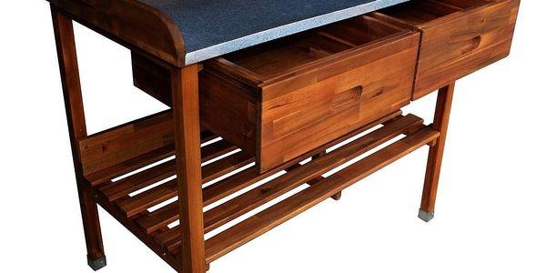 ALDOSRO Grilovací stolek Alan dřevěný