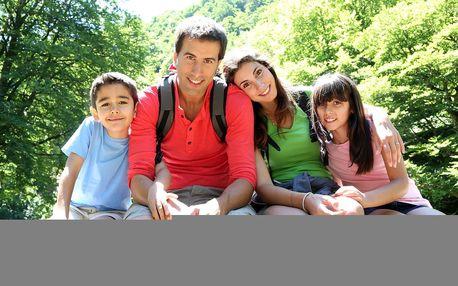 Rodinná dovolená ve stylovém srubu u Plzně