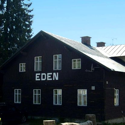 Penzion Eden v Harrachově s polopenzí a platností do listopadu 2020
