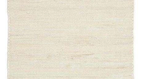 Hadrový Koberec Julia 1, 60/90cm, Krémová