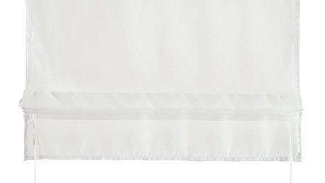Provázková Roleta Nina, 100/140cm, Bílá