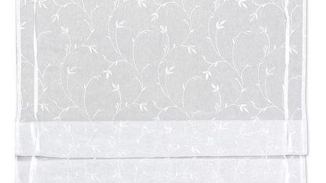 Provázková Roleta Romantic, 60/140cm, Bílá