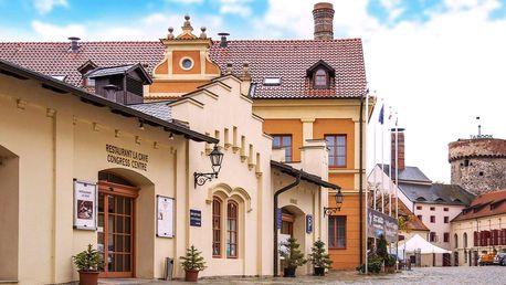 4* pobyt v centru Tábora s jídlem a wellness
