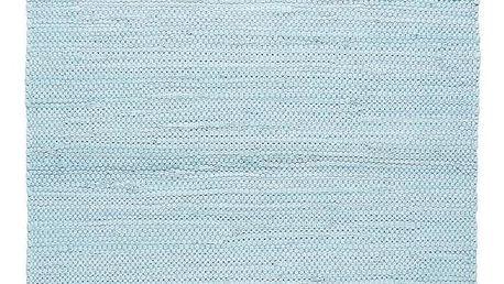Hadrový Koberec Julia 2, 70/130cm, Sv. Modrá