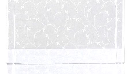 Provázková Roleta Romantic, 80/140cm, Bílá