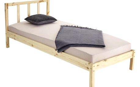 Dřevěná Postel Bez Matrace Maren, 90x200 Cm