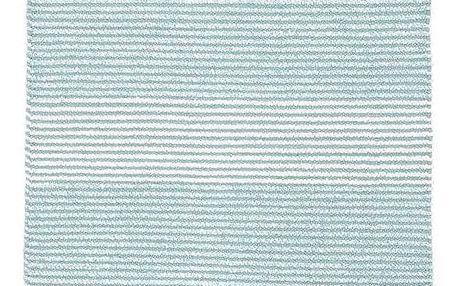 Hadrový Koberec Malto, 100/150cm, Světle Modrá