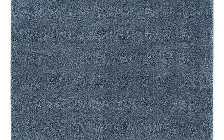 Tkaný Koberec Rubin 3, 160/230cm, Modrá
