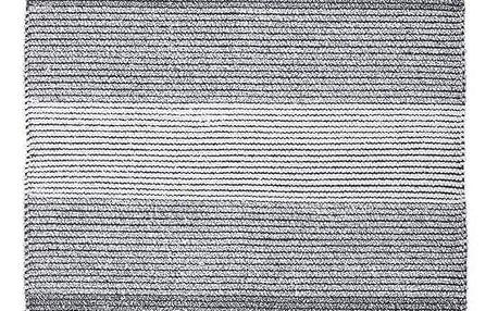 Hadrový Koberec Malto, 100/150cm, Černá