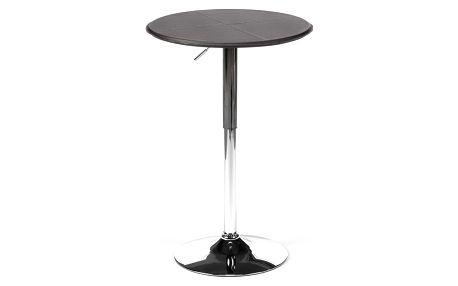Barový stolek černý LS-0743