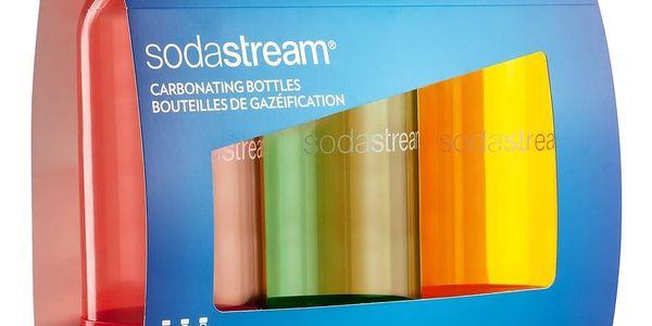 SodaStream Lahev TriPack 1l ORANGE/RED/GREEN2
