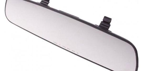 Autokamera - černá skříňka zpětné zrcátko