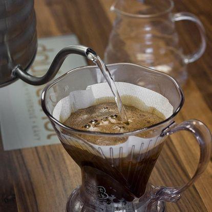 Domácí degustace kávy s pražírnou DOUBLESHOT + 5 druhů špičkové kávy + sada na přípravu kávy