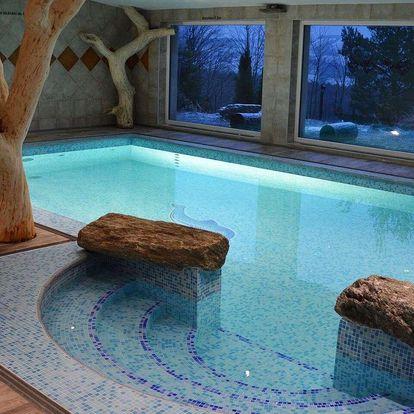 Až do podzimu v Hotelu Podlesí s bazénem, vířivkou či masáží