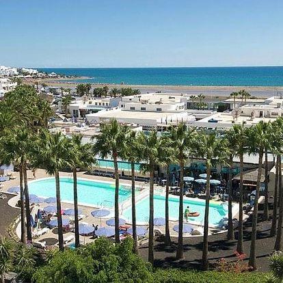 Španělsko - Lanzarote letecky na 7-8 dnů, polopenze