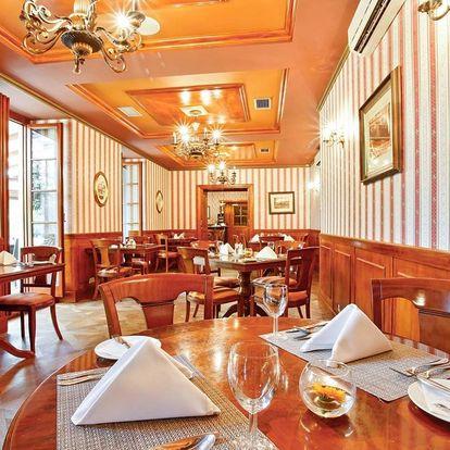 Degustační menu pro dva na zámku Chateau St. Havel — 6 exkluzivních chodů Ondřeje Slaniny + 6 druhů vín