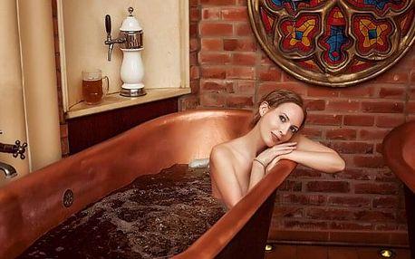 Štramberk pod Trúbou: Hotel Šipka *** v pokoji Deluxe s pivní či vinnou koupelí a domácí polopenzí