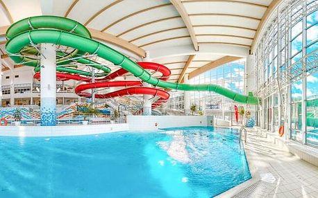 Polské Tatry: Zakopane blízko aquaparku v Hotelu Helios se snídaní, slevovou kartou, saunou a vyžitím pro děti