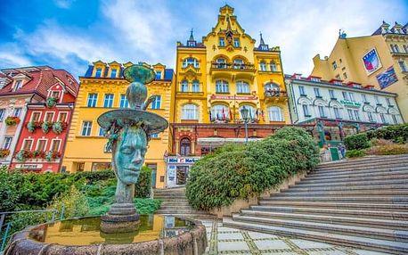 Karlovy Vary: Rodinný pobyt v Hotelu Mignon **** s polopenzí a vstupem do sauny