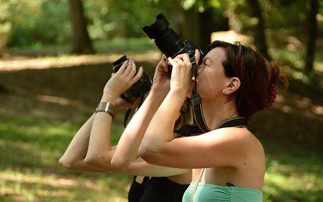 Základní fotografický kurz online u vás doma